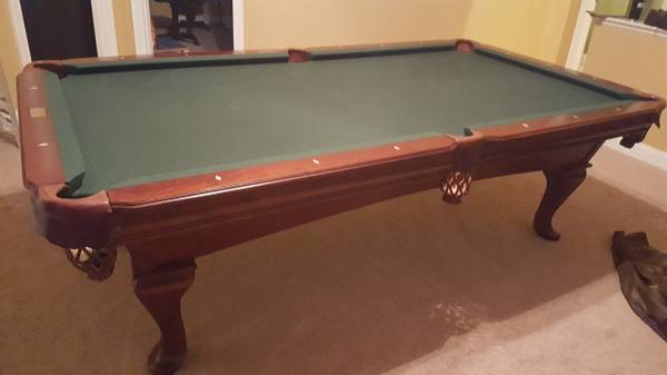 Used 8 Brunswick Pool Table At Everything Billiards Greensboro >> Solo Durham 8 Gorgeous Gandy Pool Table 1