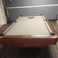 AMF Championship 9ft Pool Table
