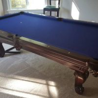 Mahogany Pool Table Excellent Condition
