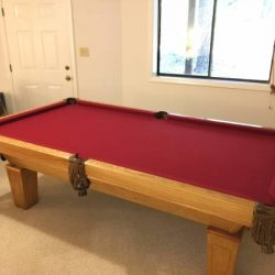 Full Size Pool Table with Ping Pong Top