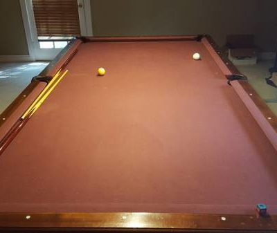 Sweeet Sweet 9x4.5 ft Vintage Pool Table