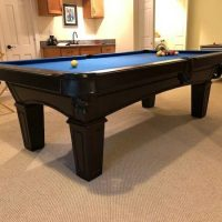 Like New Olhausen Accufast Pool Table and Ping Pong Conversion Top