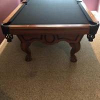 Stripe 9 Pool Table