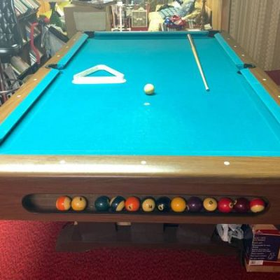 70s 8ft Pool Table in Good Condition
