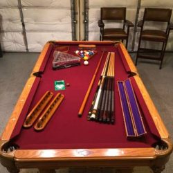 Ultimate Man Cave Pool Table