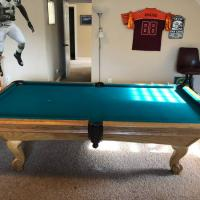 8 Foot Billiard Table