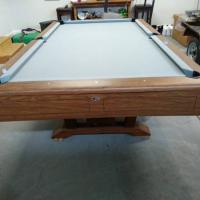 Gandy 8ft Pro Miss America Pool Table