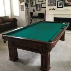 Custom 9' Pool Table
