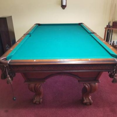 8 Foot Pool Table with 1 Inch Slate Top